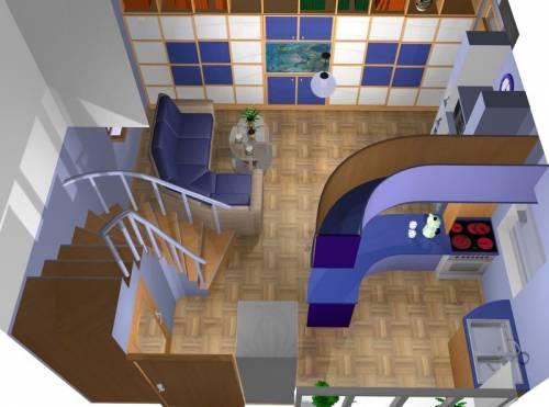 Дизайн 1 комнатной квартиры студии