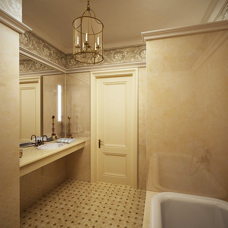 Дизайн ванной комнаты интерьер