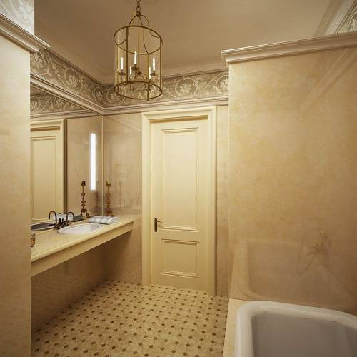 ванной комнаты покраска дизайн ванной