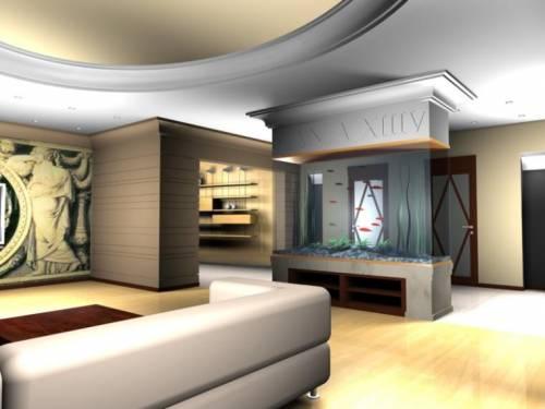 Дизайн гостиной в стиле модерн дизайн