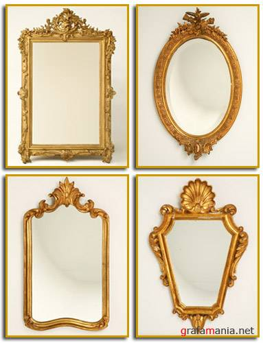 Оформление зеркала своими руками
