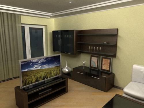 Изменить интерьер комнаты