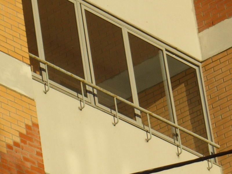 Алюминиевая лоджия, 4,4 метра в екатеринбурге - на портале b.
