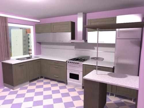 Шарм дизайн кухни