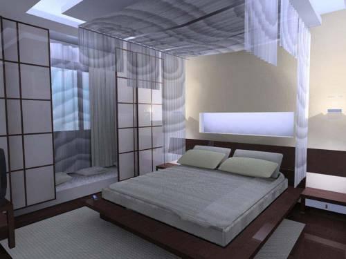 Интерьеры мансардных спален