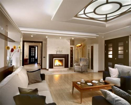 Новый дизайн гостиной