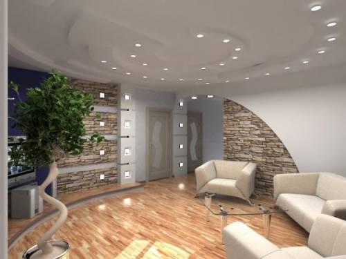Спальня гостиная дизайн интерьера