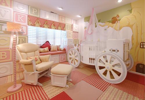 Дизайн детской комнаты на троих