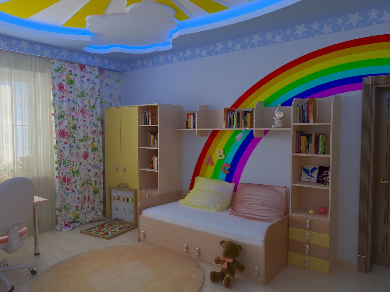 Дизайн детской комнаты для девочки - фото и рекомендации.